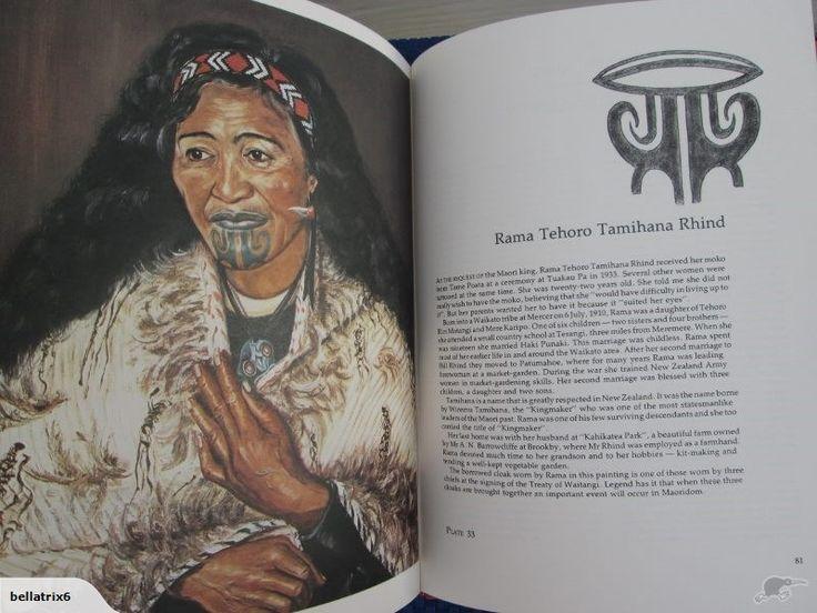 Last Tattooed Maori Women by Harry Sengl, Signed   Trade Me