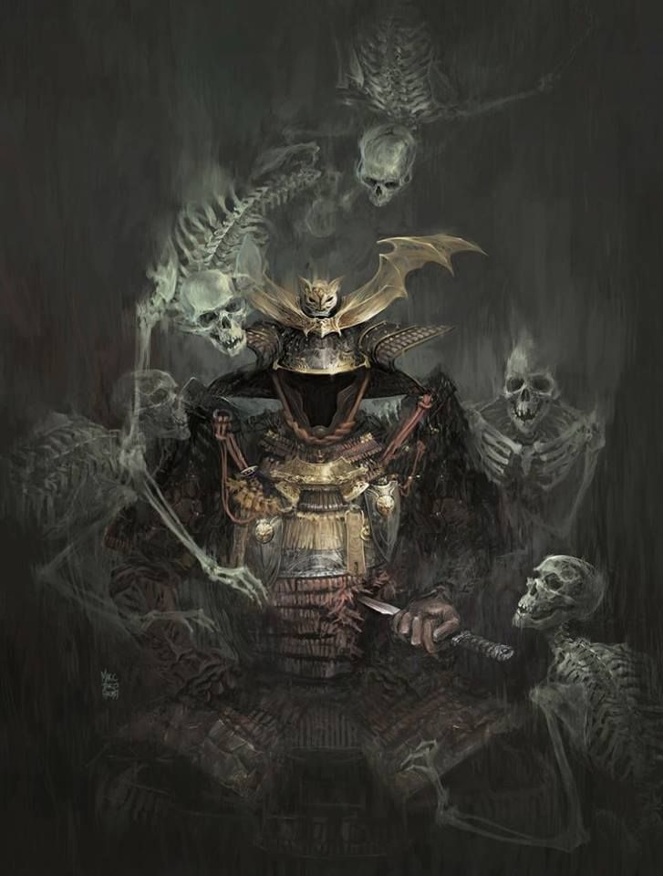 """Generally speaking, the Way of the Warrior is resolute acceptance of death."" - Miyamoto Musashi"