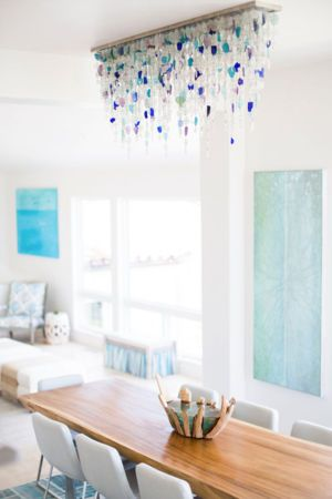 Cool idea to hide ugly fluorescents.