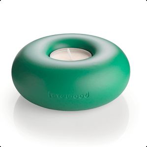 It looks so good you could almost eat it - The donut candleholder from Lovewood.