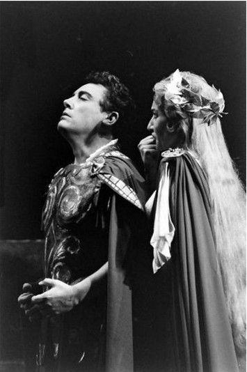 Maria Callas and Mario Del Monaco in Bellini's Norma | [photographer unknown]