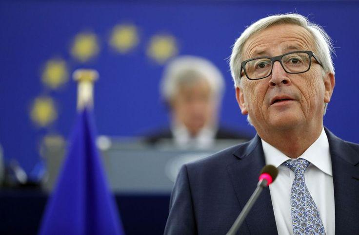 Juncker befeuert mit seiner Rede die Debatte um die EU-Reformen. Foto: AP