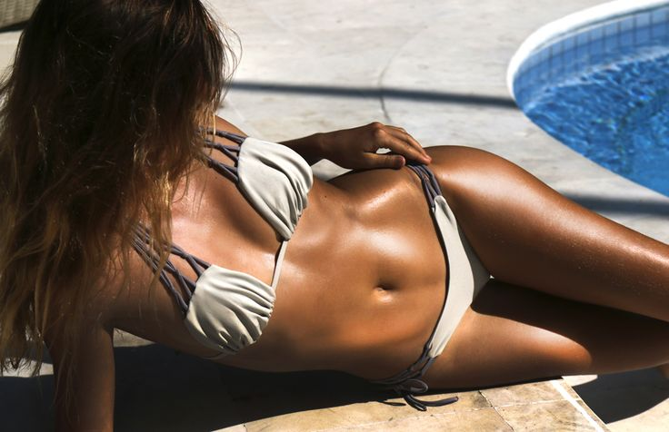 Bali life: sun and bikinis.  Nadiyya Top and Najwa Bottoms by Thaikila