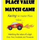 Your kiddos will love this memory game! Students will reinforce skills as they find the value of the underlined digit up to the thousandths place.  This racing themed match game will be sure to be a favorite review game!