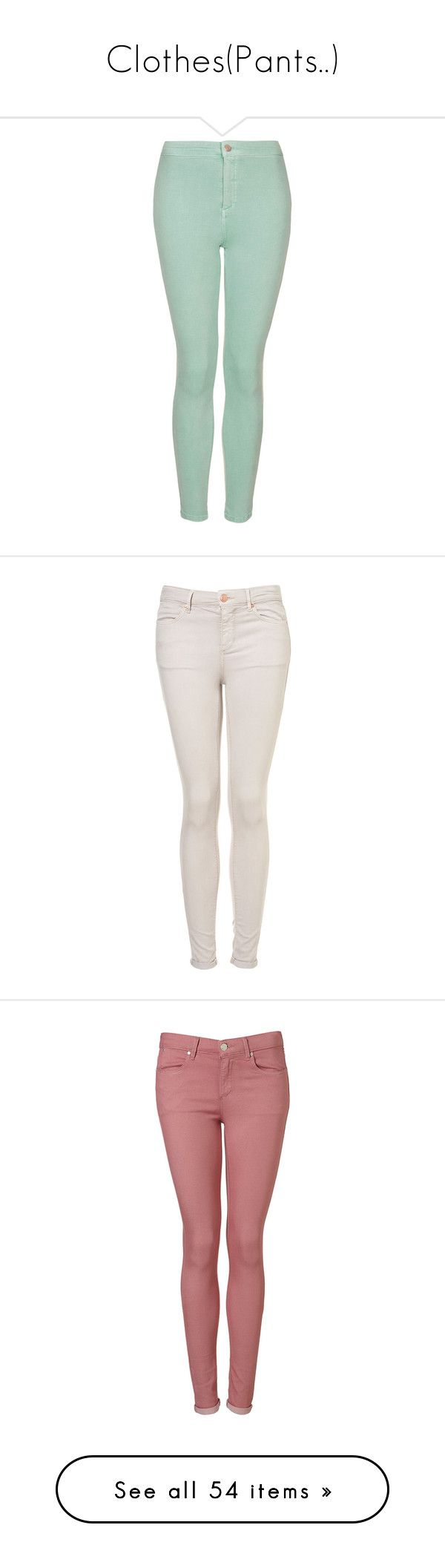 """Clothes(Pants..)"" by esther-rosa ❤ liked on Polyvore featuring jeans, pants, bottoms, pantalones, topshop, mint, checkered skinny jeans, high-waisted skinny jeans, mint green skinny jeans and green skinny jeans"