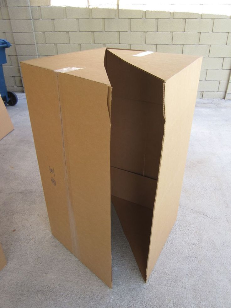 Nerf battle forts from cardboard boxes