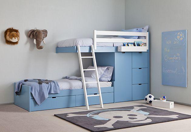 Denne sengen er en fantastisk løsning for barnerom der du har ...