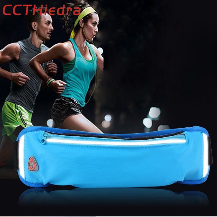 CCTHiedra Brand Universal Mobile Phone Bag Sport Waist Belts Bag Zipper Running Armband Pouch bags For iPhone 8 X /Xiaomi/Huawei