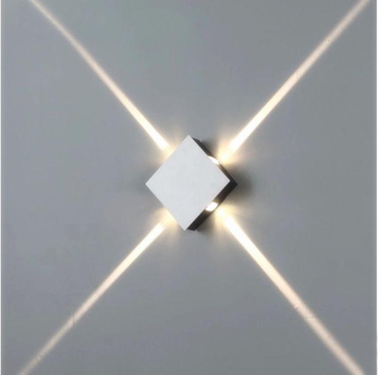 4 Narrow Beam Spot Lights Led Wall Lighting Effect Light