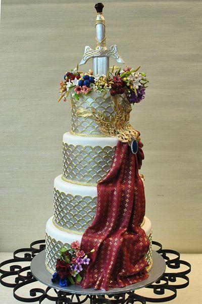 Les 30 plus beaux gâteaux à thème «Game of thrones/Le trône de fer»