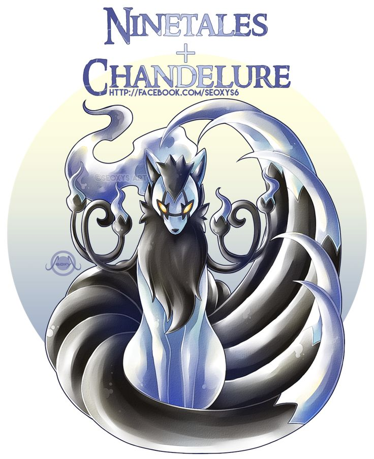 Ninetales + Chandelure                                                                                                                                                                                 More