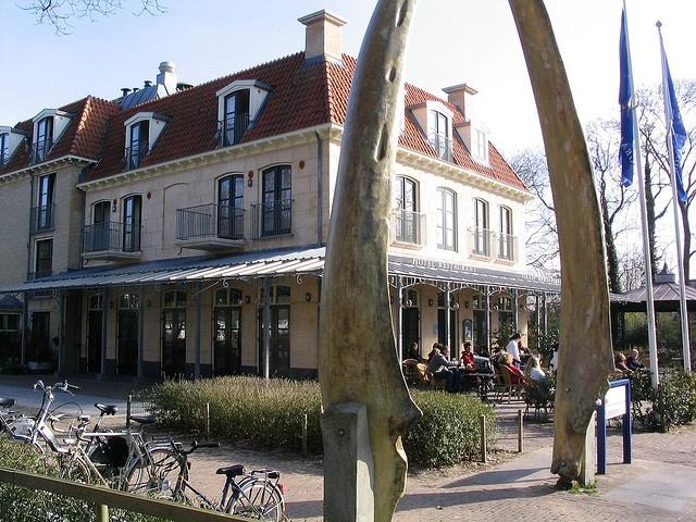 Schiermonnikoog (Island)  Netherlands Bernstorff Hotel & Restaurant.  Visited with Hetty, Ebel, & Nanneke in 2011 and walked and biked the island!