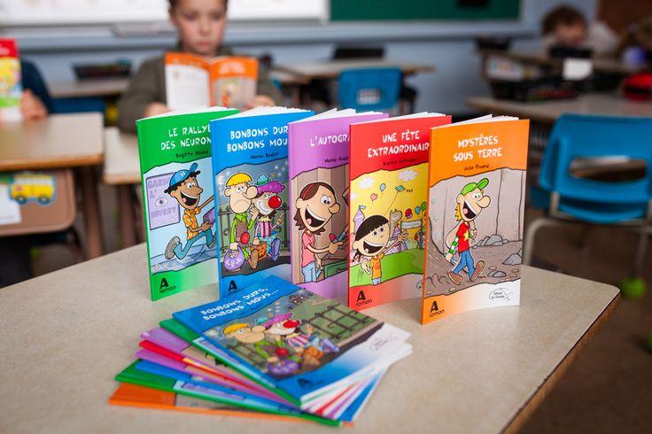 Du plaisir à lire est une collection en littératie conçue pour initier les enfants à la lecture et les aider à devenir des lectrices et des lecteurs autonomes.