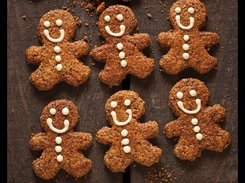 Oatmeal Gingerbread Men : The Healthy Chef – Teresa Cutter