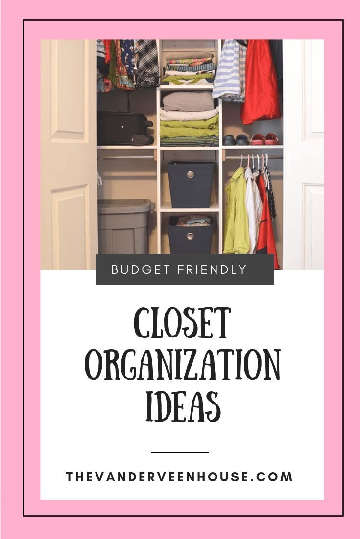 Custom Closet Organization With Built In Shelving Storage