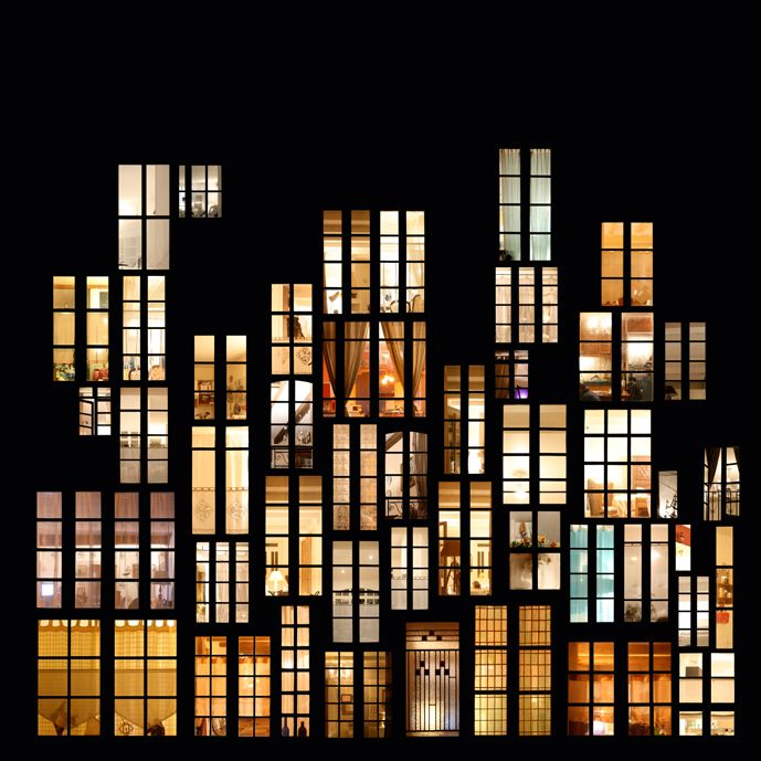 http://www.mymodernmet.com/profiles/blogs/dreamy-window-collage-structures -- Collage by French artist Anne-Laure Maison