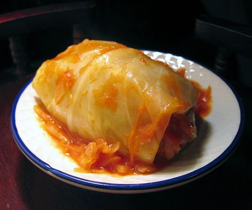 Stuffed Cabbage! - töltött káposzta