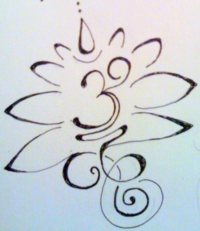 om lotus tattoo designs the image kid has it. Black Bedroom Furniture Sets. Home Design Ideas