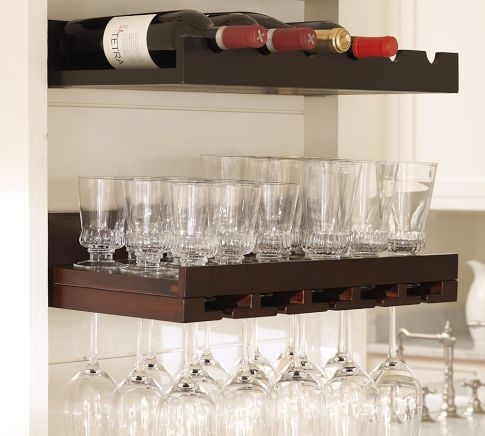definitely need these..my wine glass collection has outgrown the cabinets and the kitchen island