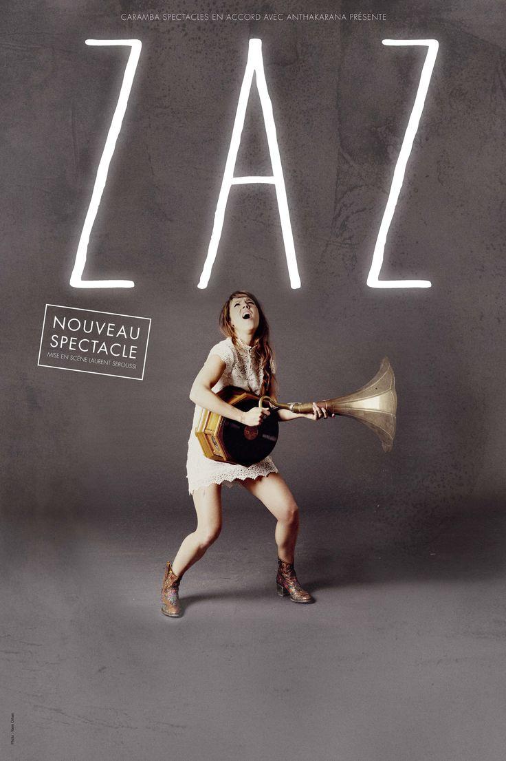 ZAZ - der französische Superstar - kommt am 19.1.16 in die Arena Genf und am 16.3.16 ins Hallenstadion Zürich. Tickets bei Ticketcorner.