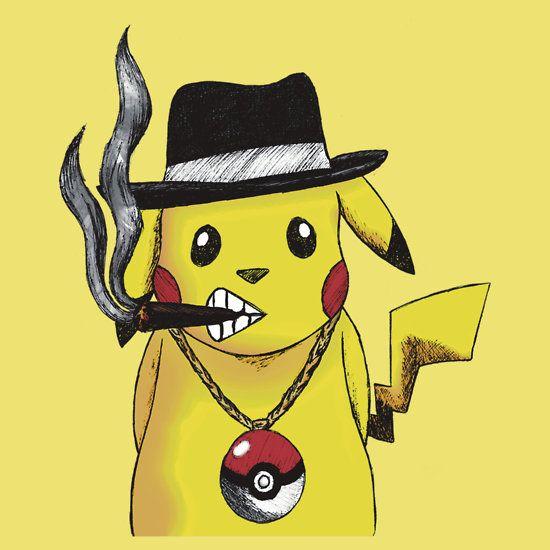 pimpin Pika T-SHIRT FOR SALE   #Anime #Manga #Pikachu #pokemon #cool #character #design