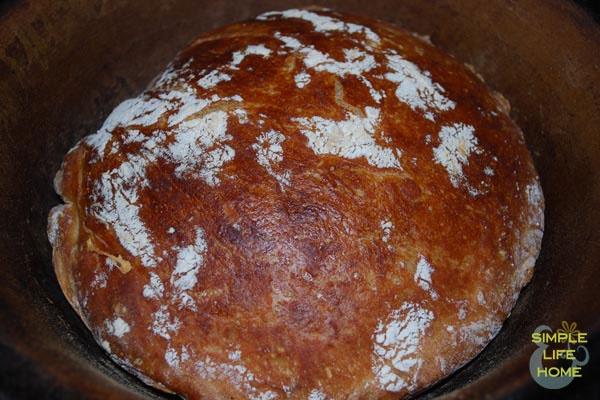 No-knead bread. Oh, boy!