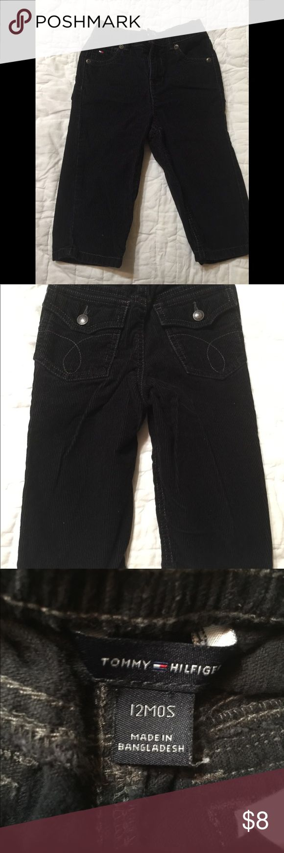 Tommy Hilfiger black cords size 12 months Tommy Hilfiger black cords size 12 months Non smoking home Discount for 3 or more items  Fast shipping Tommy Hilfiger Bottoms