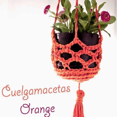 Patrón Cuelgamacetas Orange