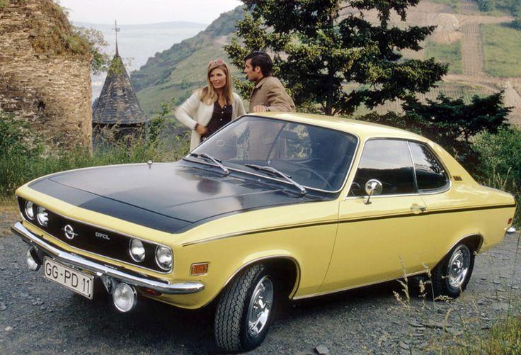 1973 and 1974 Opel Manta Rallyes