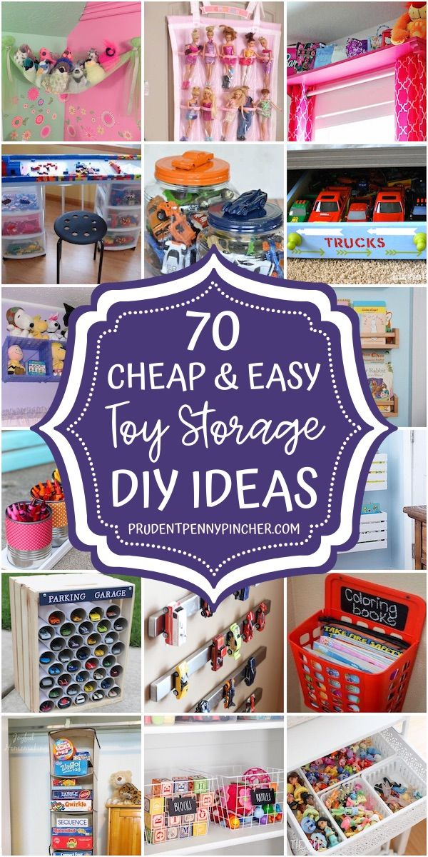 70 Cheap And Easy Toy Storage Ideas In 2020 Diy Toy Storage