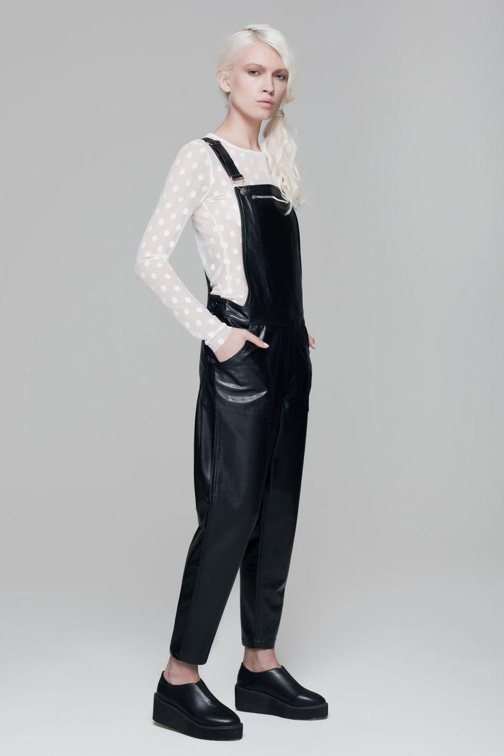Mesh Pois Top BLACKBLESSED  @Black Blessed #black #white #fashion #minimal #basic #elegant #designer #urban #urbanchic #dresses #pants #tshirt #top #leggings #white #simple #simplicity