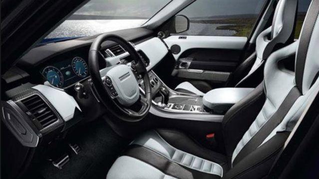2018 Range Rover Sport Facelift Interior Design