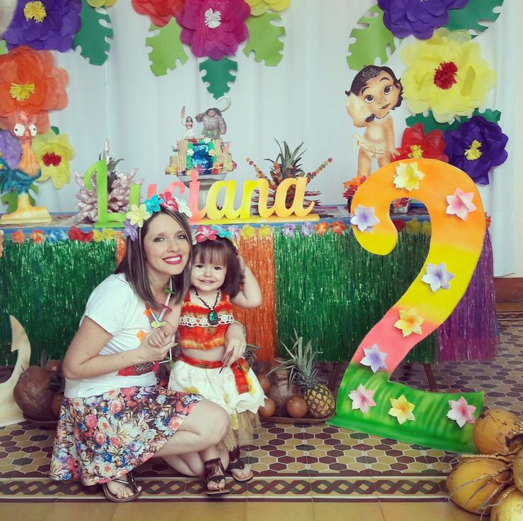 Mi propia fiesta de Moana para mi princesa Lu!! | moana fiesta | Pinterest  | Love the, Fiesta and Love