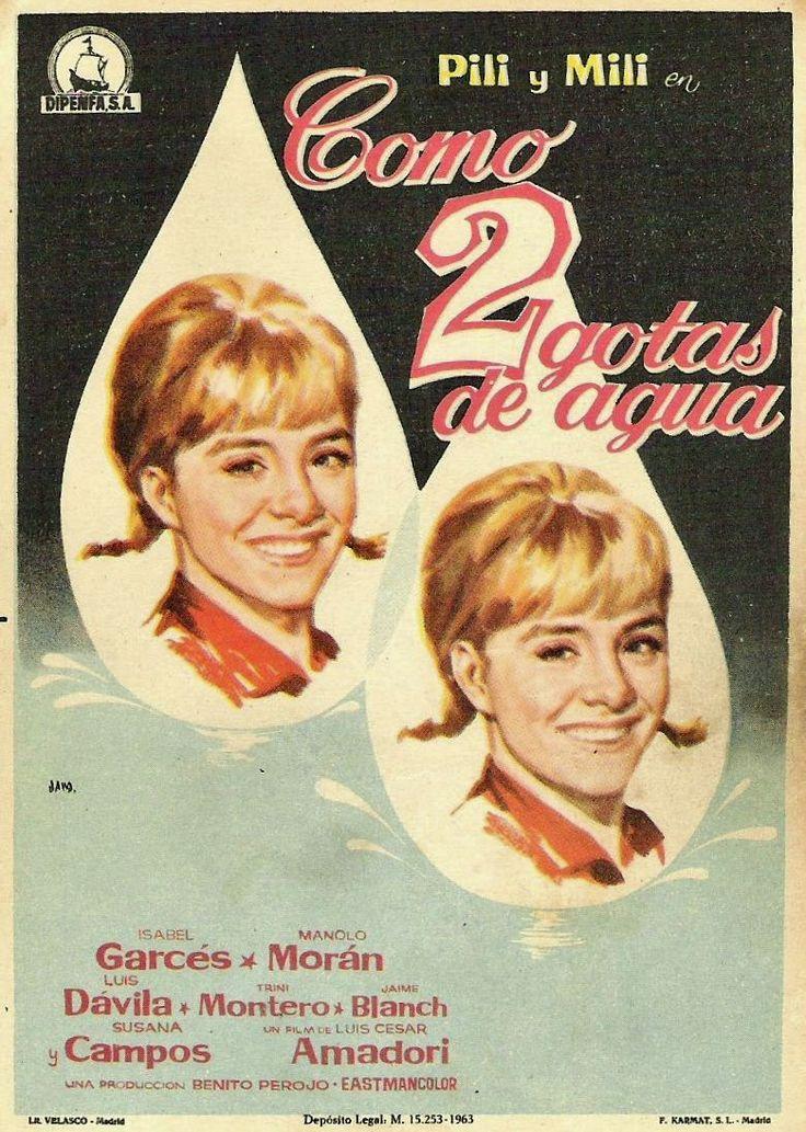 Como dos gotas de agua (1964) de Luis César Amadori - tt0056944
