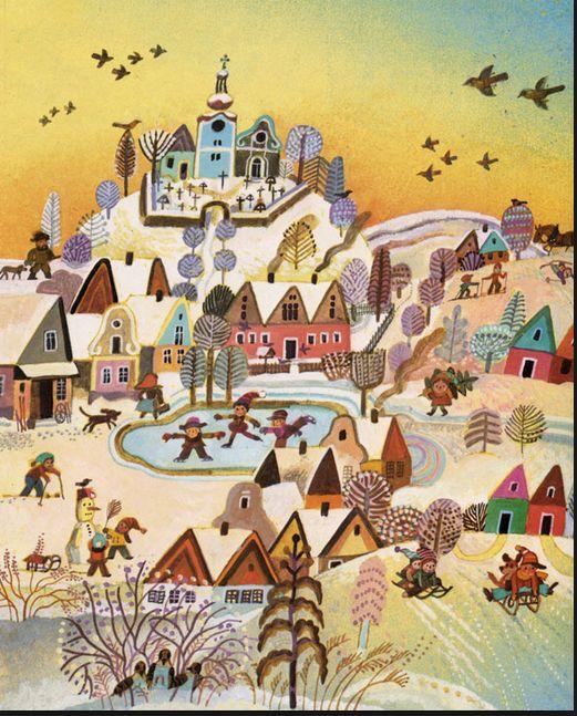 Czech illustration – Josef Paleček