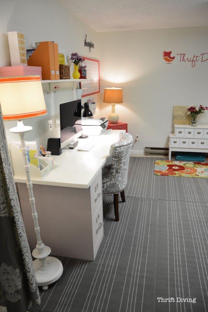best 25 basement home office ideas on pinterest. Black Bedroom Furniture Sets. Home Design Ideas