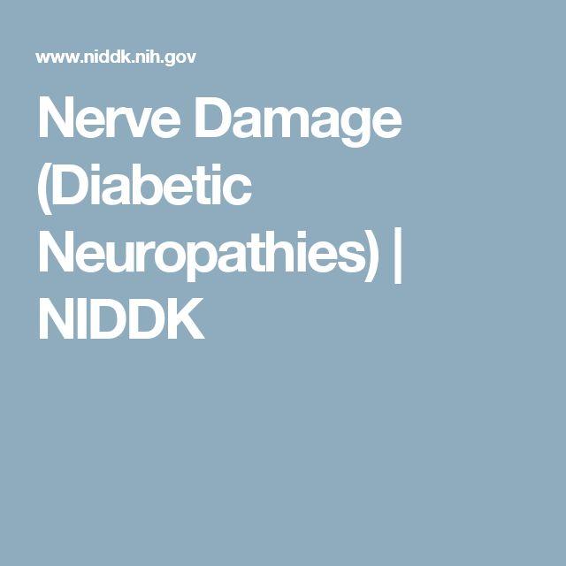 Nerve Damage (Diabetic Neuropathies) | NIDDK