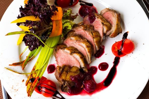 Duck baked with vegetables and herbs - Stock Photo - Images Download here : https://photodune.net/item/duck-baked-with-vegetables-and-herbs/20085785?s_rank=1&ref=Al-fatih