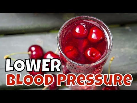 CHERRY JUICE For Lowering HIGH BLOOD PRESSURE. HOW Do Cherries help Lowe... https://youtu.be/g0jQpnpl8hA via @HomeRemediesTV