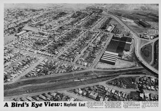 M2110 - A Bird's Eye View - Mayfield East [1974]