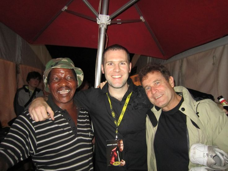Sipho Mchunu, Dan Shout and Johnny Clegg