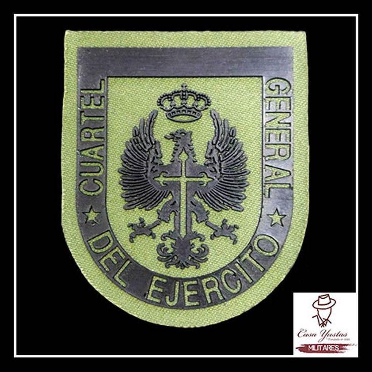 PARCHE CUARTEL GENERAL DEL EJÉRCITO DE TIERRA (Faena) >> Precio: 250  Conoces ya nuestra selección de Parches?  Tenemos parches de la Guardia Civil el Ejército de Tierra de la Marina Paracaidistas Policía Nacional Legionarios y muchos más!  #Parche #Patch #Patches #flecken #toppa #patchs #ejercitodetierra #ejercitodetierraespañol #ejércitodetierra #troops #military #armedforces #spanisharmedforces