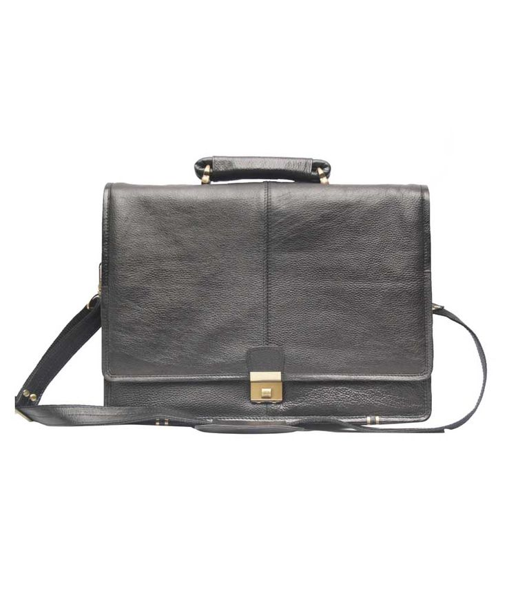 Loved it: Comfort Office bag Black Leather 16 inch Laptop Messenger Bags, http://www.snapdeal.com/product/comfort-office-bag-black-leather/245022760
