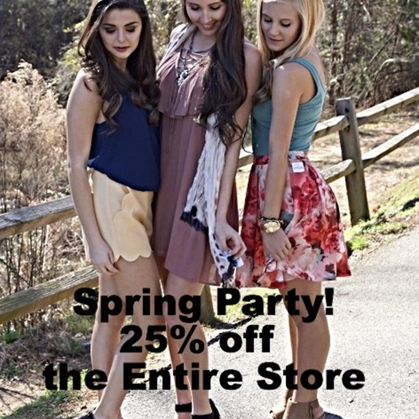 Get a Peek at Spring! 25% off the Entire store. Tuesday, March 1st only. #Apricotlanaugusta #springspiration #springspired #instafashion #instashoes #instasale #trendy #trendytuesday