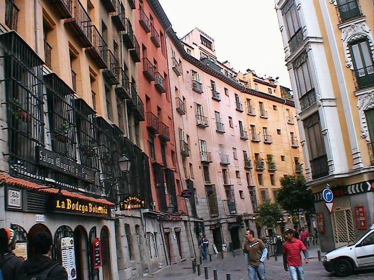 Street in Valladolid, Spain