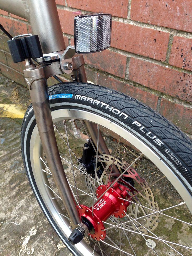 disk brake on Brompton