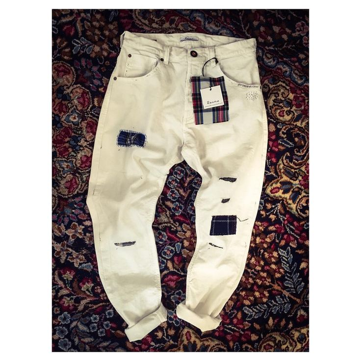 White Trousers Man FW15 ! Art.62250 #art #AI15 #advcampaign #amazing #Berna #bernaitalia #bestoftheday #fashion #follow #trousers #white#patch #jeans #happy #look #love #lookbook #model #makeup #ootd #outfit #picoftheday #photooftheday #style #styles #top #winter #autumn #fw15