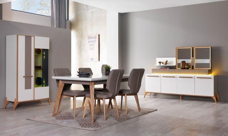 Bergama Yemek Odası Takımı Tarz Mobilya   Evinizin Yeni Tarzı '' O '' www.tarzmobilya.com ☎ 0216 443 0 445 Whatsapp:+90 532 722 47 57 #yemekodası #yemekodasi #tarz #tarzmobilya #mobilya #mobilyatarz #furniture #interior #home #ev #dekorasyon #şık #işlevsel #sağlam #tasarım #konforlu #livingroom #salon #dizayn #modern #rahat #konsol #follow #interior #armchair #klasik #modern