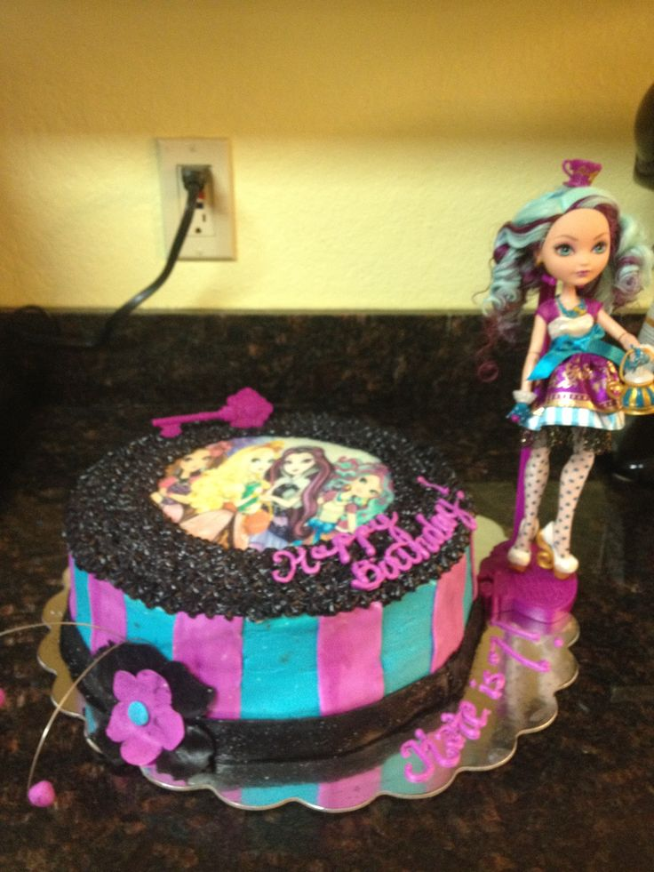 Ever After High cake | Birthday Party- Lily | Pinterest ...
