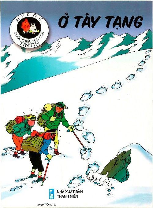 Couverture de Tintin (en langues étrangères) -20Vietnamien- Ở Tây Tạng